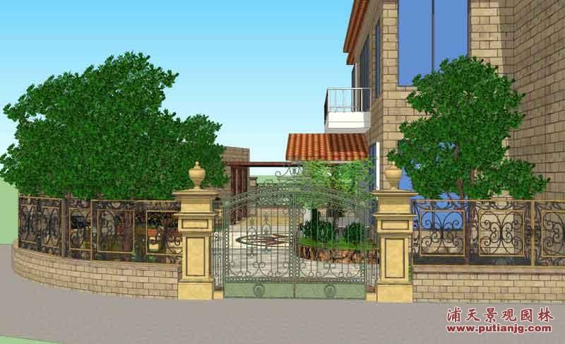 同升湖别墅设计案例2 设计建造 图库 湖南浦天景观园林有限公司